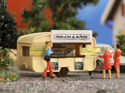 """Verkaufswagen """"Milch & Käse"""""""