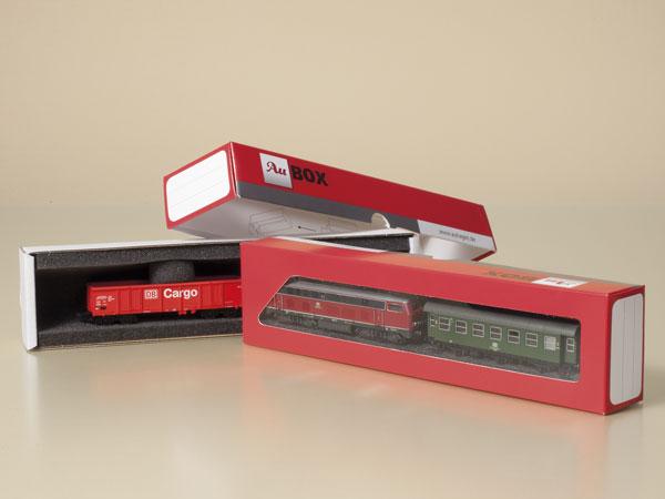 Au-BOX - Transportboxen für Spur N Modelle