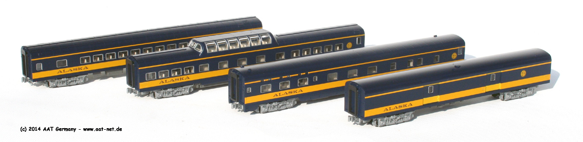 Passenger Car Sets