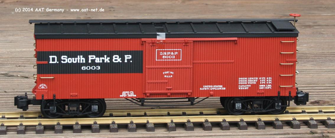 Denver South Park & Pacific