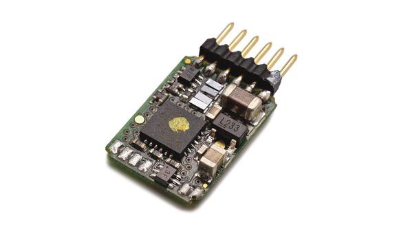 DCC Steck-Decoder 6-pol. NEM 651