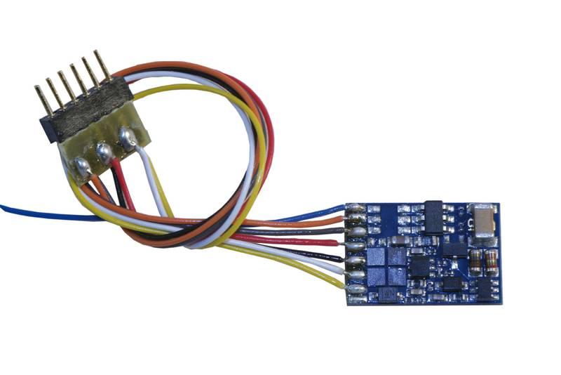 LokPilot Fx Micro V3.0, 6-pol. NEM 652