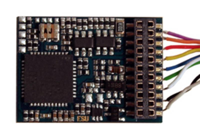 LokPilot V4,0, Multiprotokoll 6-pol. NEM 651