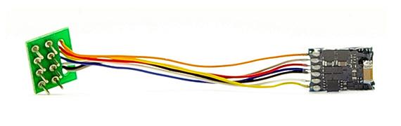 LokPilot micro V4.0, Multiprotokoll 8-pol. NEM 652