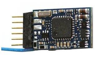 LokPilot micro V4.0, DCC 6-pol. NEM 651 direkt