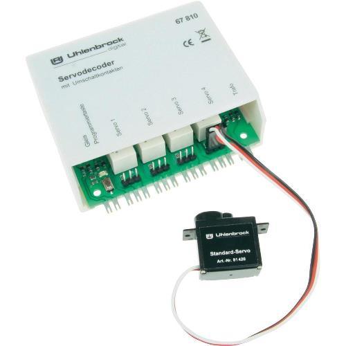 Servodecoder mit Schaltausgang