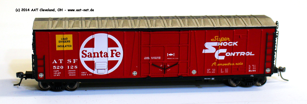 50´ Reefer Boxcar H0