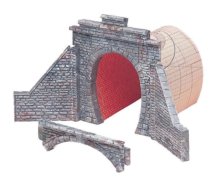 Tunnelportal für Dampf/Oberleitungsbetrieb