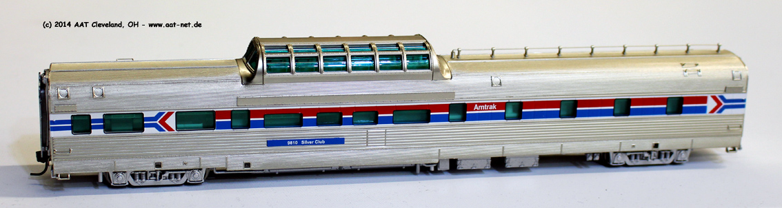 Amtrak, Phase I