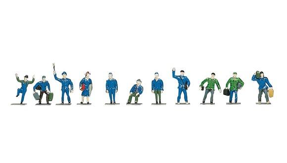 Bahnfiguren (24 Stück)