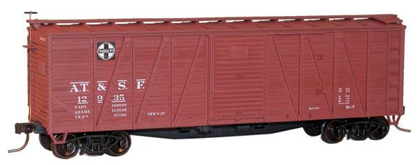 40' Wood Boxcar H0