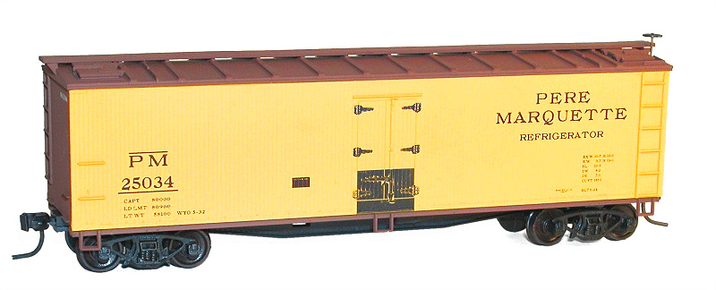 40' Wood Reefer H0
