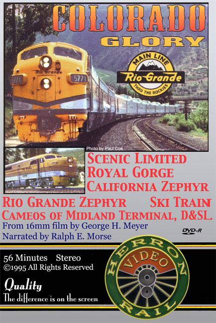 D&RGW, Royal Gorge, CZ, Ski Train