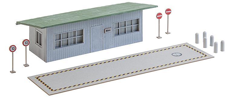 LKW-Waage mit Bürogebäude