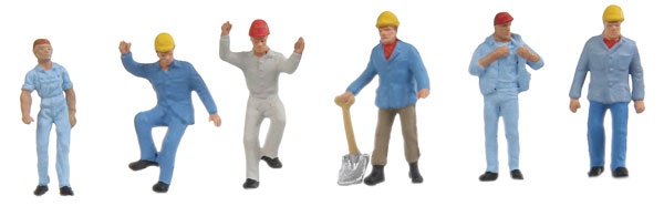 Modern Grain Elevator Workers