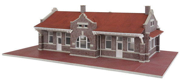 Brick Mission Style Depot