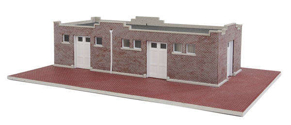 Brick Mission Style Freight House