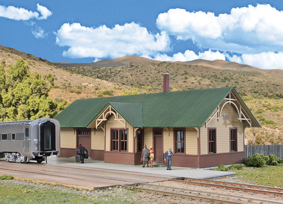 Union Pacific Style Depot