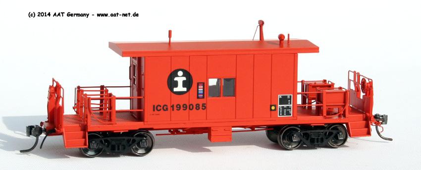 Transfer Caboose H0
