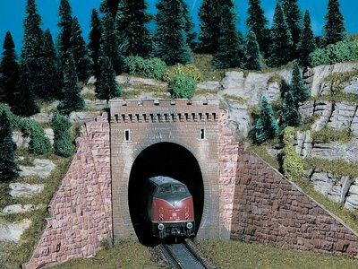 Tunnelportal, eingleisig