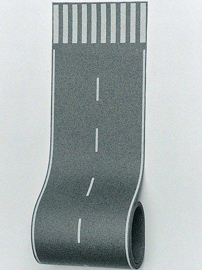 Straßenfolie mit Zebrastreifen