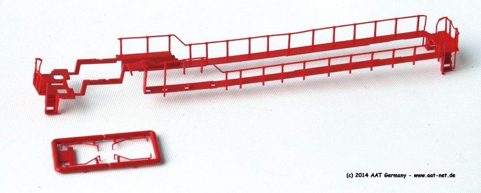 N Handrailset, red