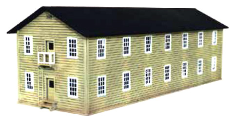 Two-Story Military Barracks Kit