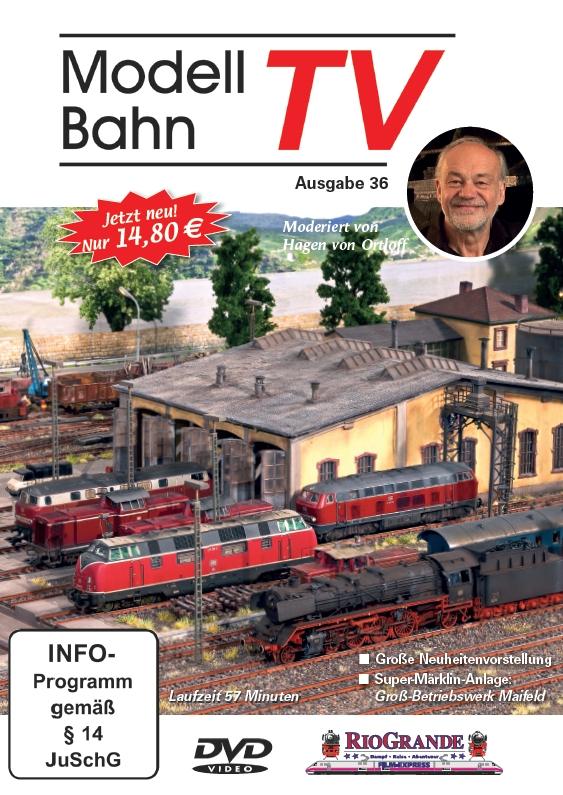 ModellBahn TV Ausgabe 36