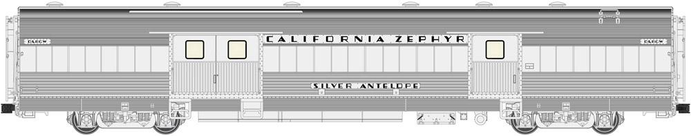 California Zephyr / CB&Q
