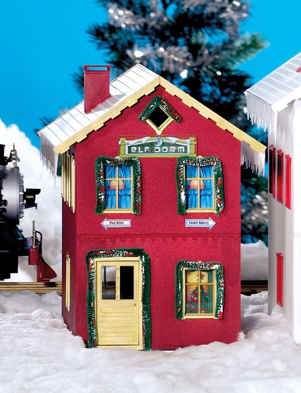 Weihnachts-Elfenhaus
