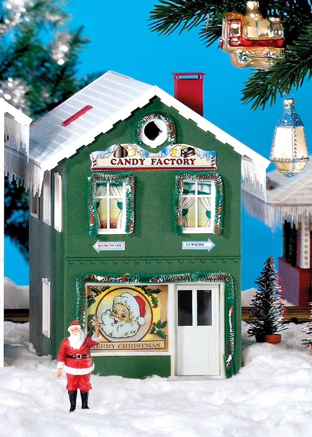 Weihnachts-Zuckerwarenladen