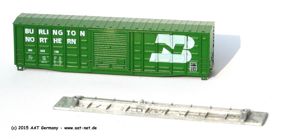 50' Boxcar N