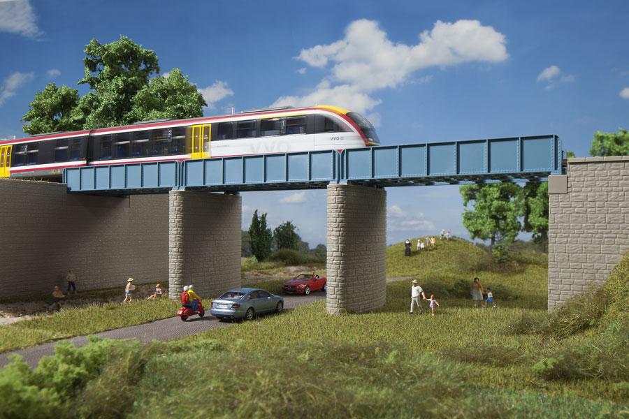 Erweiterung Blechträgerbrücke