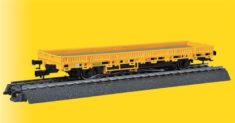 Niederbordwagen gelb mit Antrieb