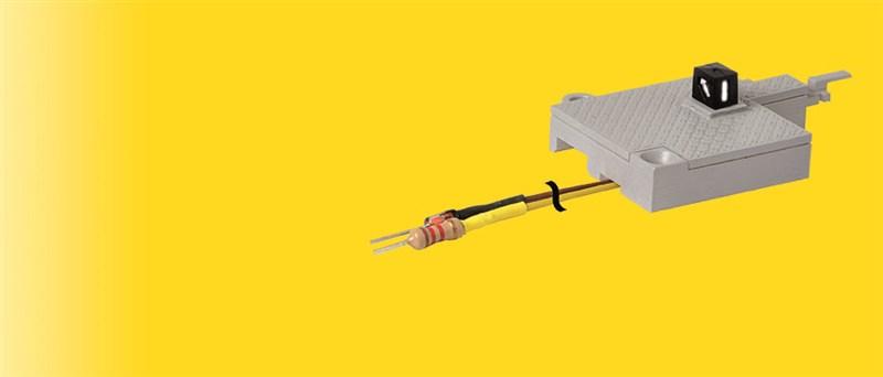 Weichenlaterne mit Adapter