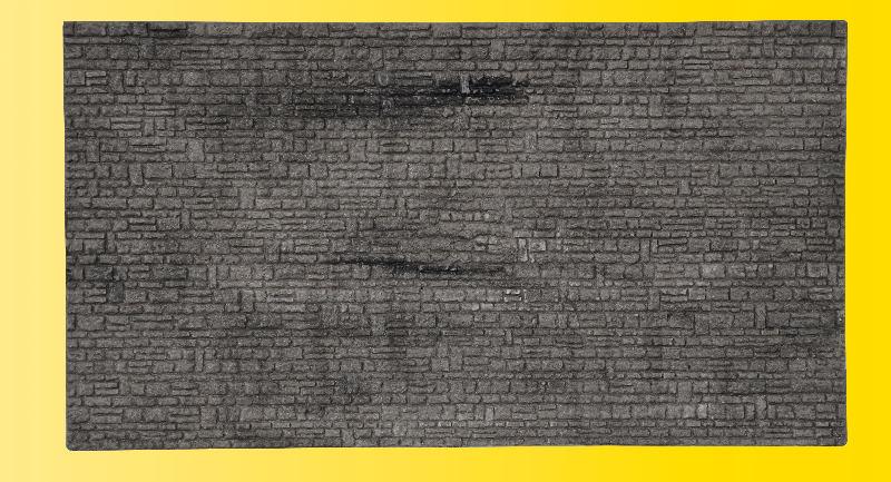 Mauerplatte Haustein