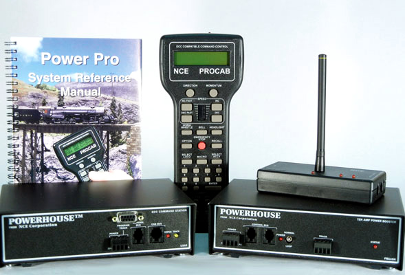 Power Pro DCC Starter Set (for G Scale 10A)
