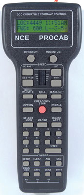 Deluxe Master ProCab Wireless Throttle