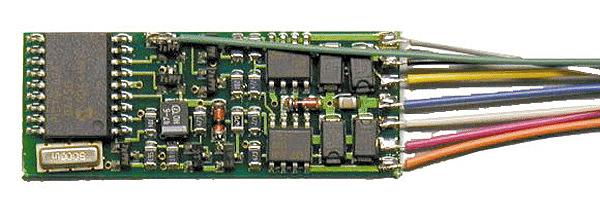 D13SR Decoder 1.3A w/8-pin NMRA plug