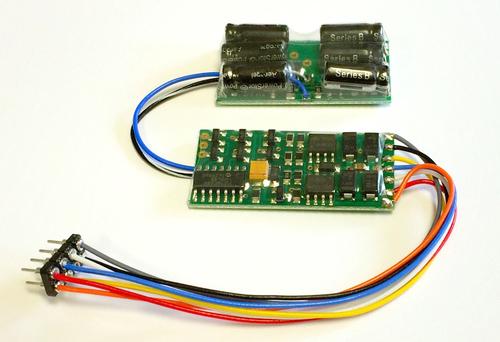 D13SRP Decoder 1.3A w/8-pin NMRA plug