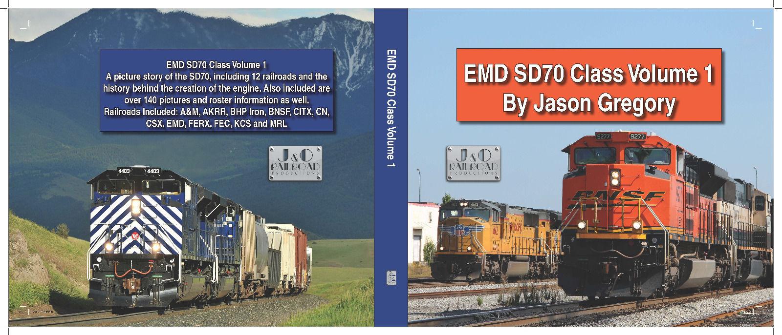 EMD SD70 Class Volume 1