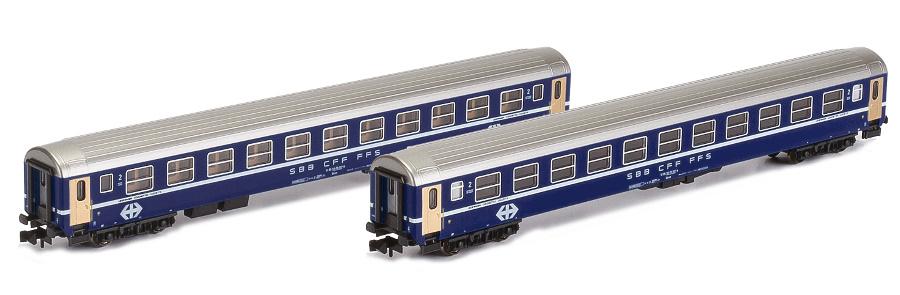 Liegewagen-Set 2-teilig - SBB