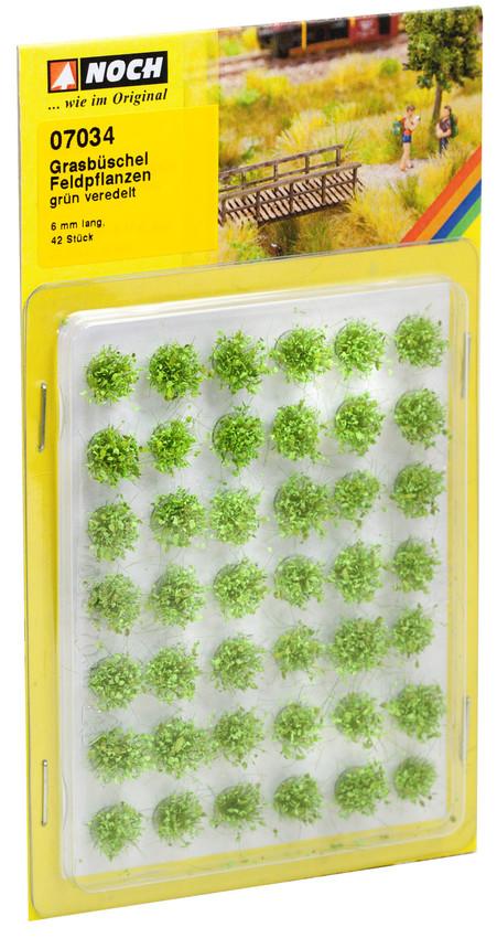 Grasbüschel Feldplanzen (42 Stück)