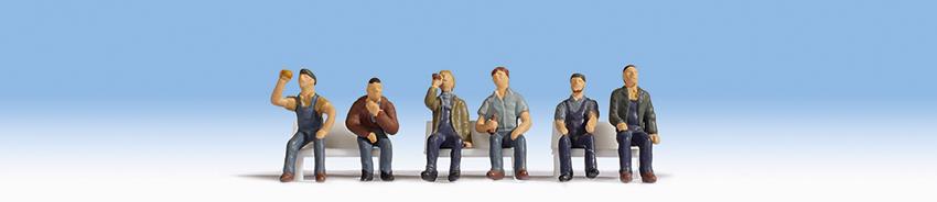 Arbeiter sitzend