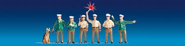 Polizisten Deutschland (grün)