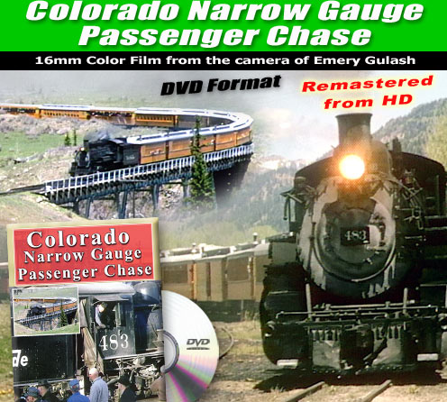 Narrow Gauge Passenger Chase