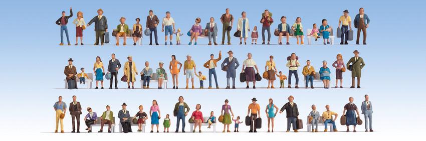 Reisende (60 Figuren)