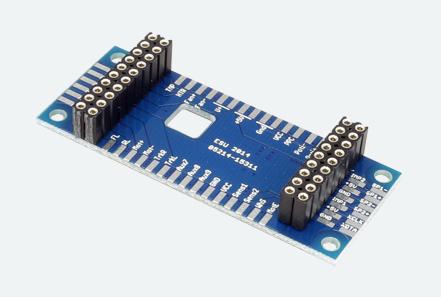 Adapterplatine für LokSound 4.0