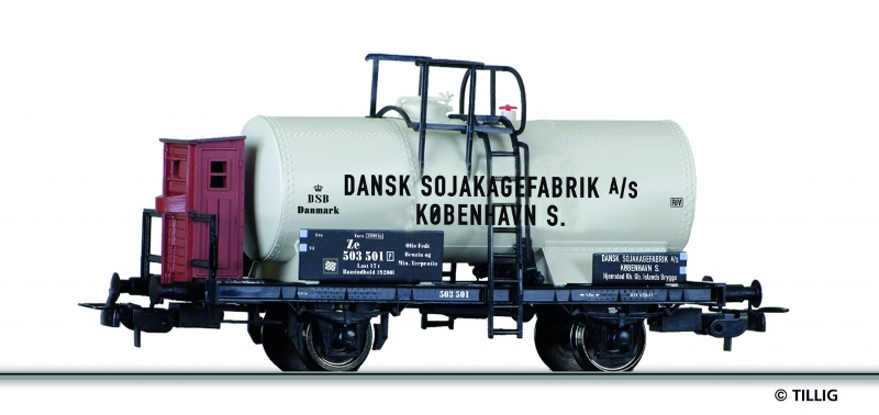 DSB / Dansk Sojakagefabrik
