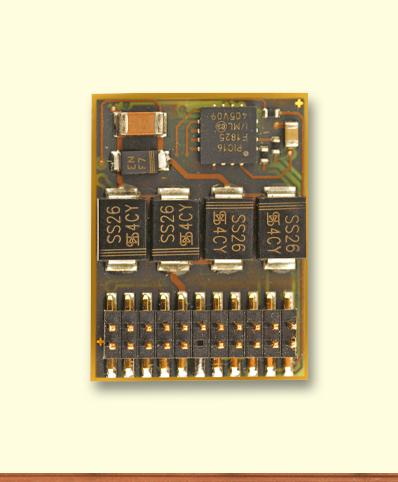 Decoder DH22A-4, PluX22